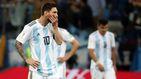 Una charla de Messi con su esposa evitó que, hundido, dimitiera de Argentina