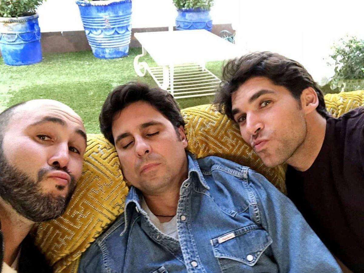 Foto: Los hermanos Rivera (Kiko, Fran y Cayetano) en una imagen de Instagram.