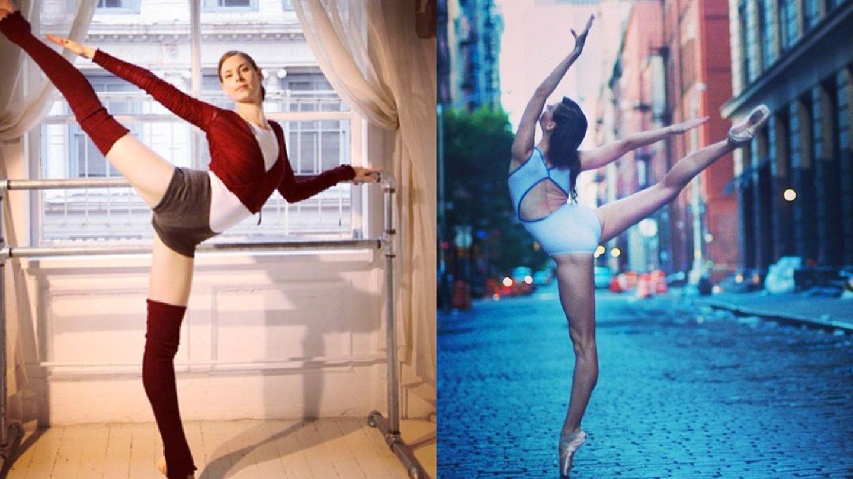Beautiful Ballet modela el cuerpo de las supermodelos (Fotos: Instagram)
