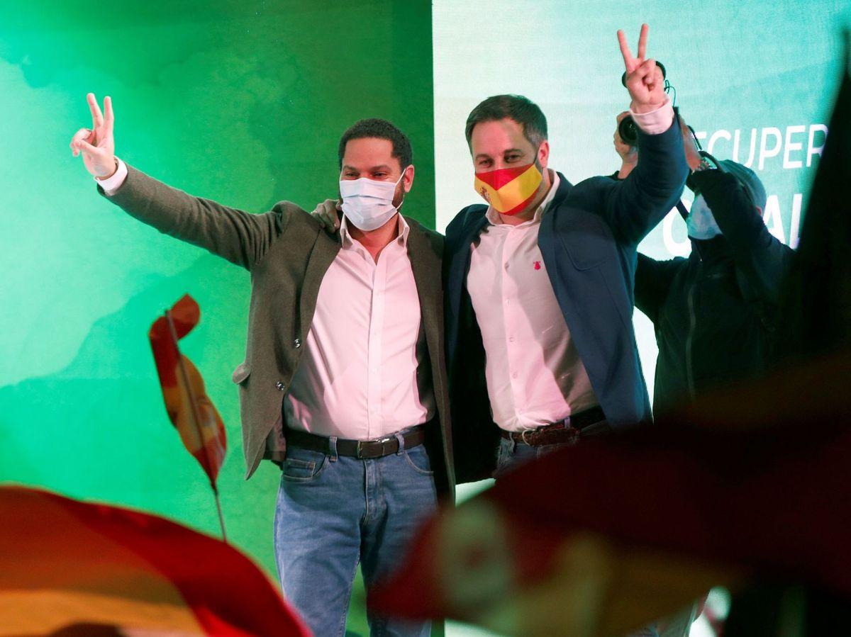 Foto: Acto final de campaña del Vox. (EFE)
