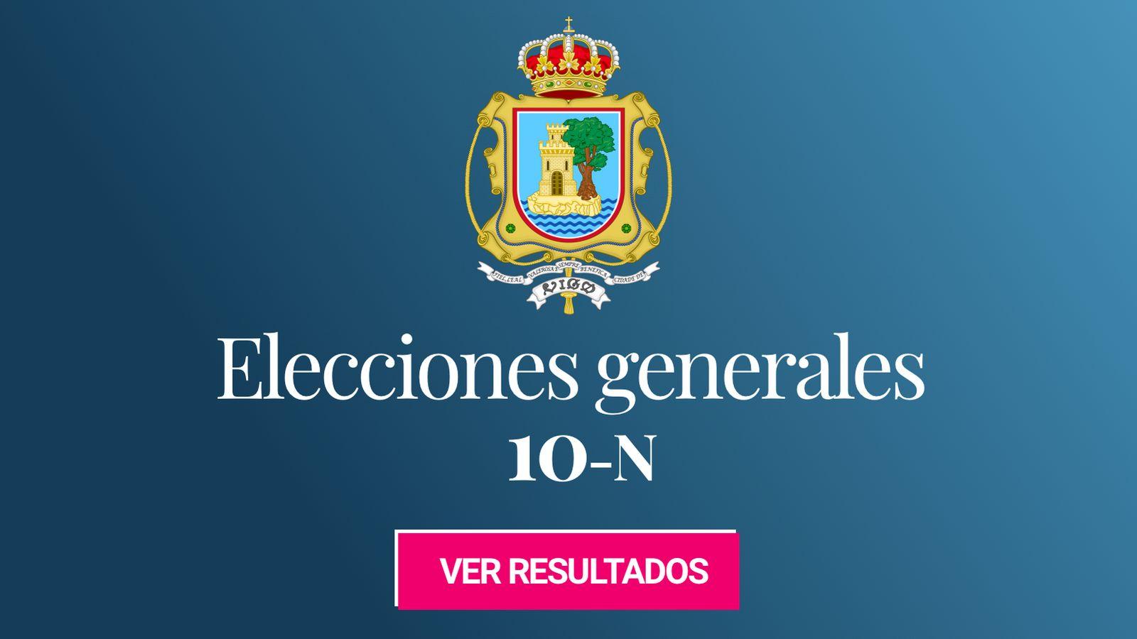 Foto: Elecciones generales 2019 en Vigo. (C.C./EC)