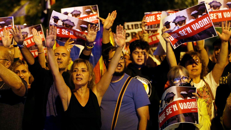Manifestación independentista en Cataluña. (EFE)