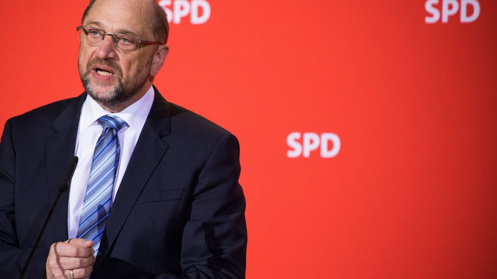Foto: Martin Schulz renuncia a ser ministro de Exteriores con Merkel. (EFE)