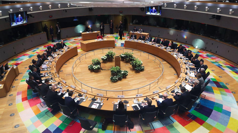 Reunión del Consejo Europeo en Bruselas. (EFE)