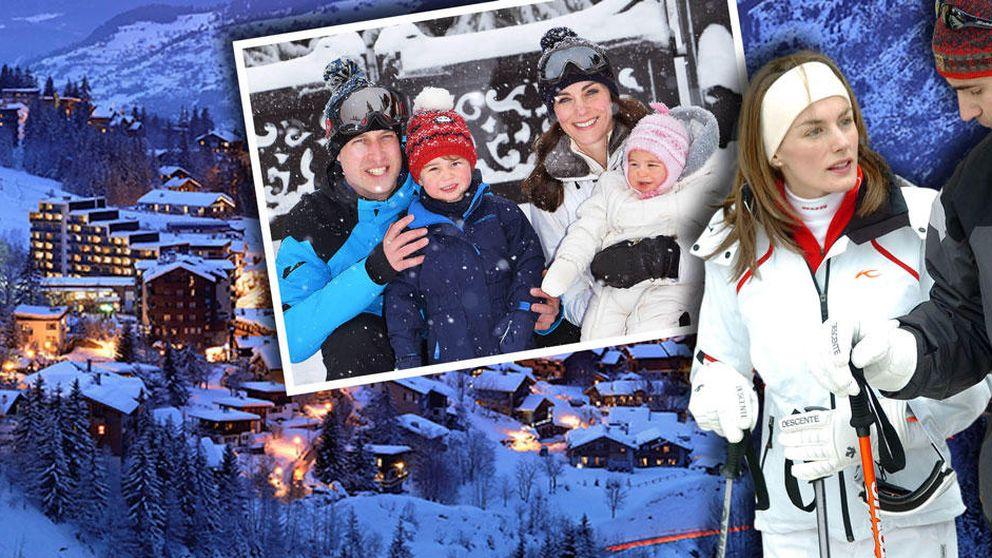 Courchevel, la estación de esquí que une a Felipe y Letizia con los duques de Cambridge