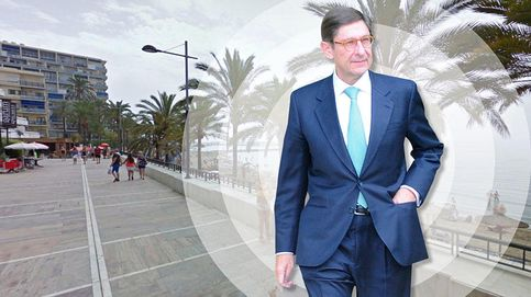 José Ignacio Goirigolzarri, presidente de Bankia, disfruta del puente en Marbella