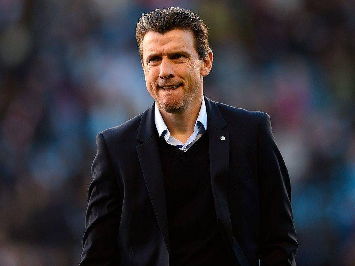 Foto: Unzué, durante su época como entrenador del Celta. (Reuters)