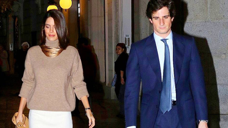 Sofía Palazuelo y el duque de Huéscar. (Lagencia Grosby)