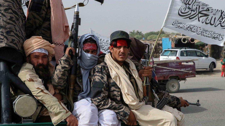 Foto: Talibanes en Kandahar. (EFE)