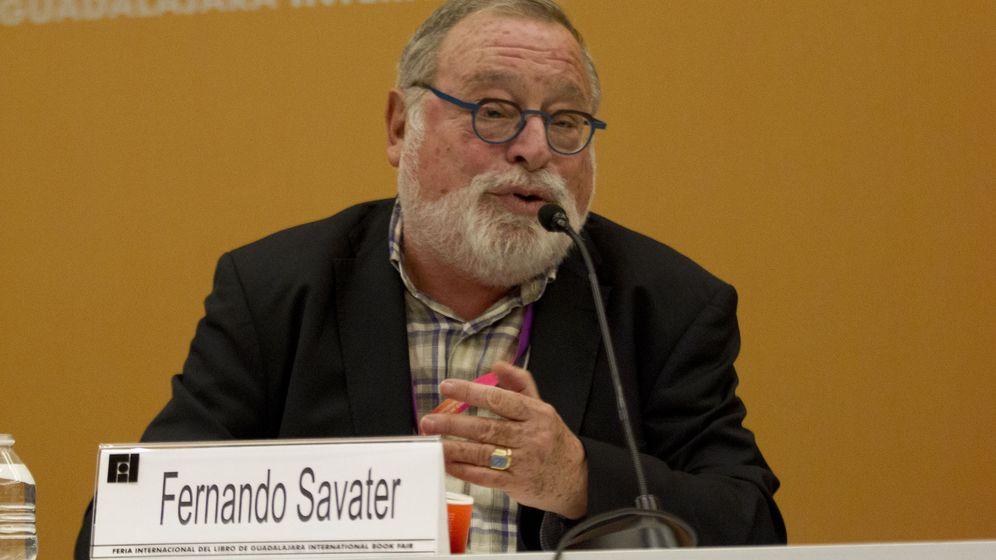 Foto: Fernando Savater. (EFE)
