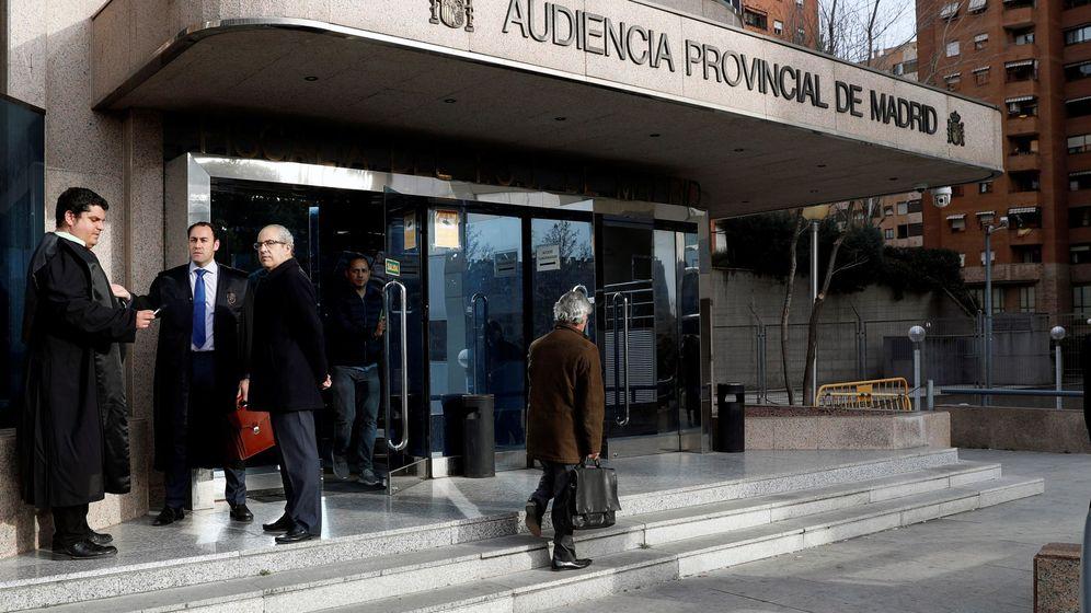 Foto: Entrada de la Audiencia Provincial de Madrid (Efe)