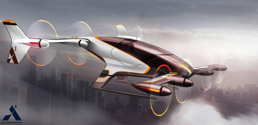 ¿Adiós al tráfico? Airbus ya trabaja en la creación de 'coches voladores' sin piloto