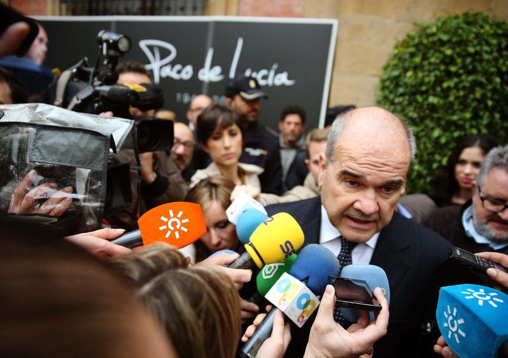Foto: El expresidente de la Junta de Andalucía Manuel Chaves. (EFE)