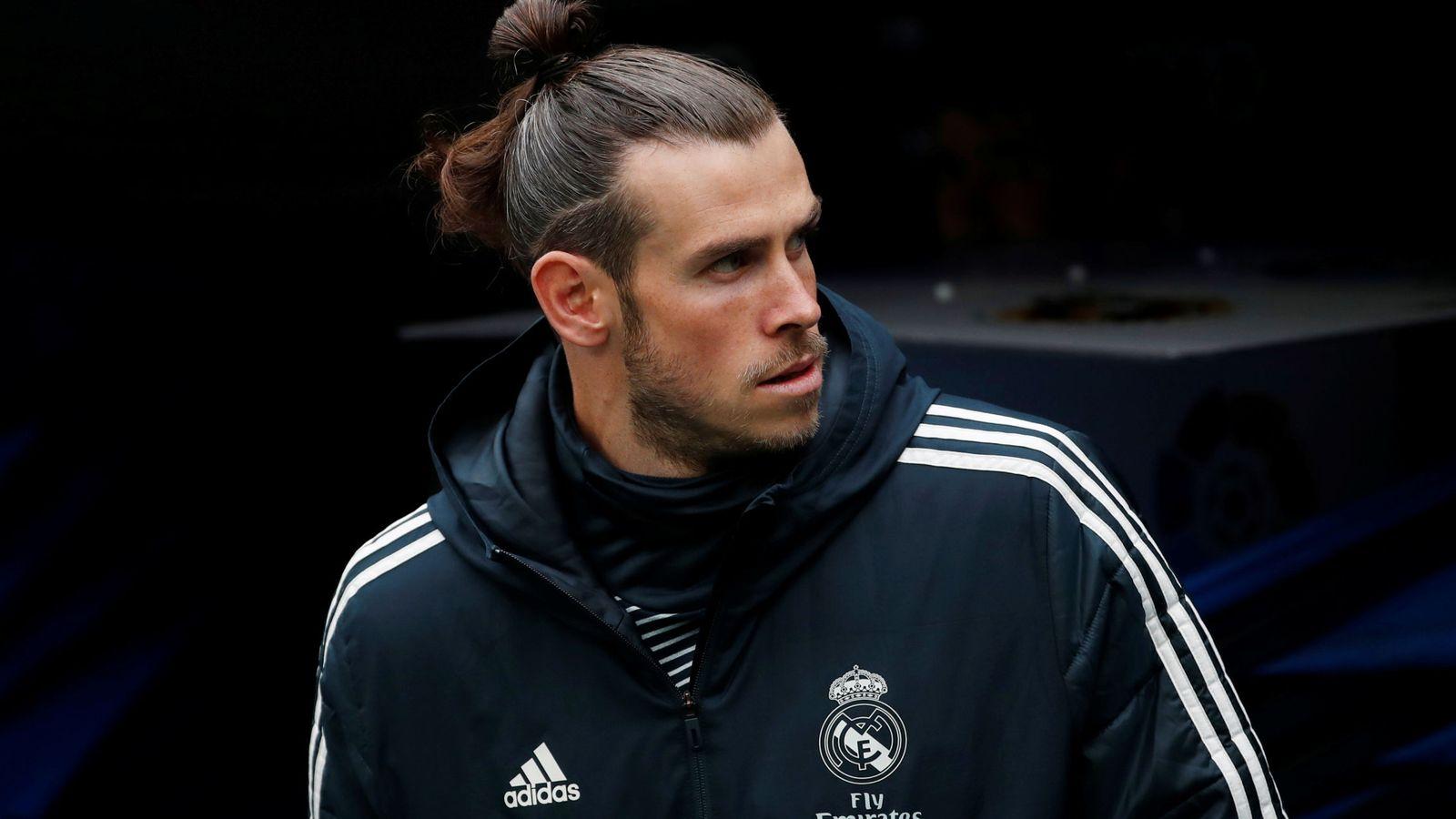 Foto: Gareth Bale, en el túnel de los vestuarios del estadio Santiago Bernabéu. (EFE)