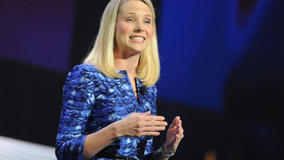 Foto:  La presidenta de Yahoo, Marissa Mayer. (EFE)