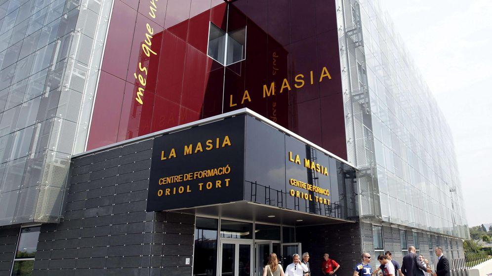 Foto: La Masía del FC Barcelona, situada en Sant Joan Despí, fue unaugurada en 2011. (EFE)