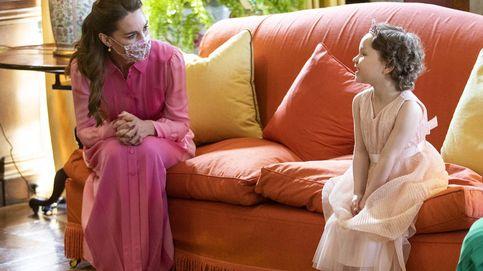 Princesa en rosa: así ha cumplido Kate Middleton el sueño de una niña con cáncer