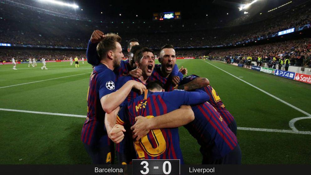 El día en que la rabia de Leo Messi rescató a un Barcelona 'pobre' en posesión