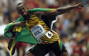 El huracán Usain Bolt arrasa a su paso por Moscú