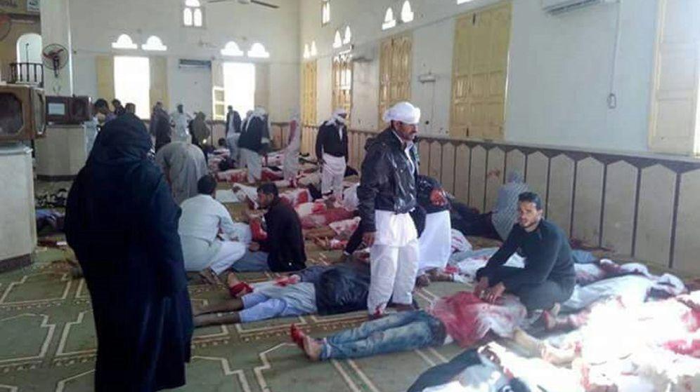 Foto: Una de las primeras imágenes difundidas tras el atentado. (EFE)