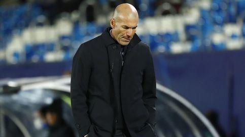 Zidane también culpa a los jugadores, pero no les quiere dejar en evidencia