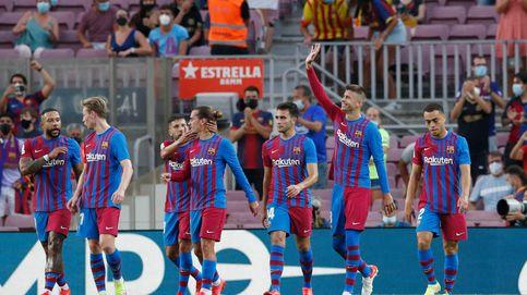 El Barça inaugura la era pos-Messi con una exhibición frente a la Real Sociedad (4-2)