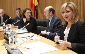 El PSOE arremete hasta contra el padre de Gallardón en su precampaña europea
