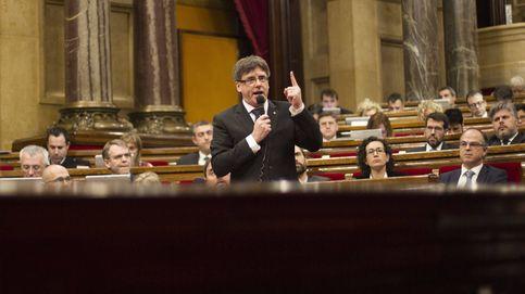 En directo, Puigdemont comparece en el Parlament de Cataluña