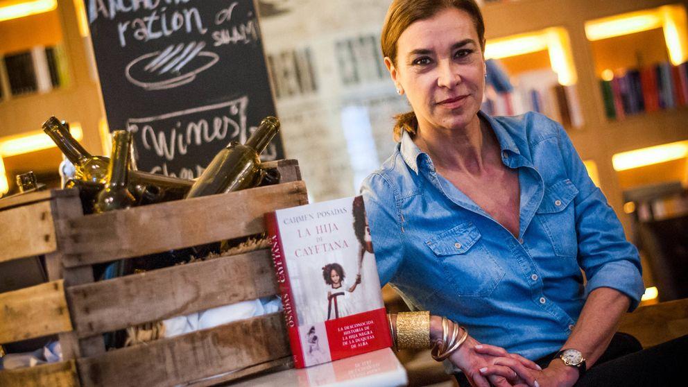 Carmen Posadas habla de problemas fiscales, Mariano Rubio y su nuevo libro