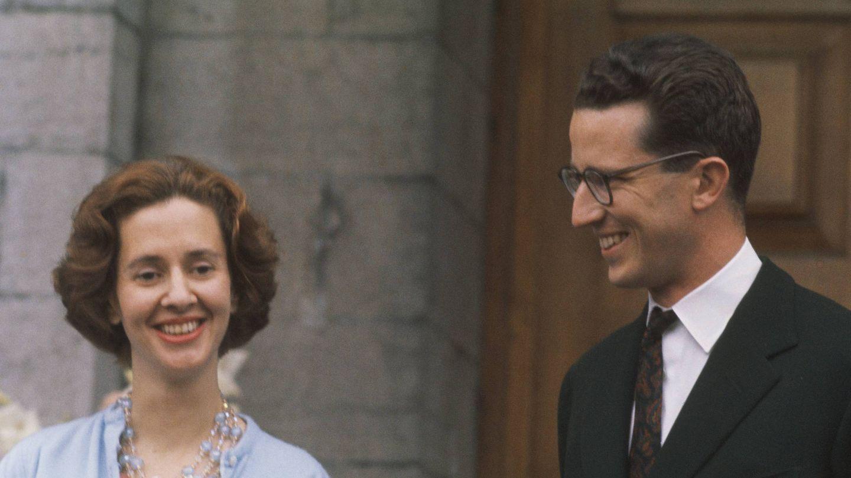 Fabiola y Balduino cuando anunciaron su compromiso. (Getty)