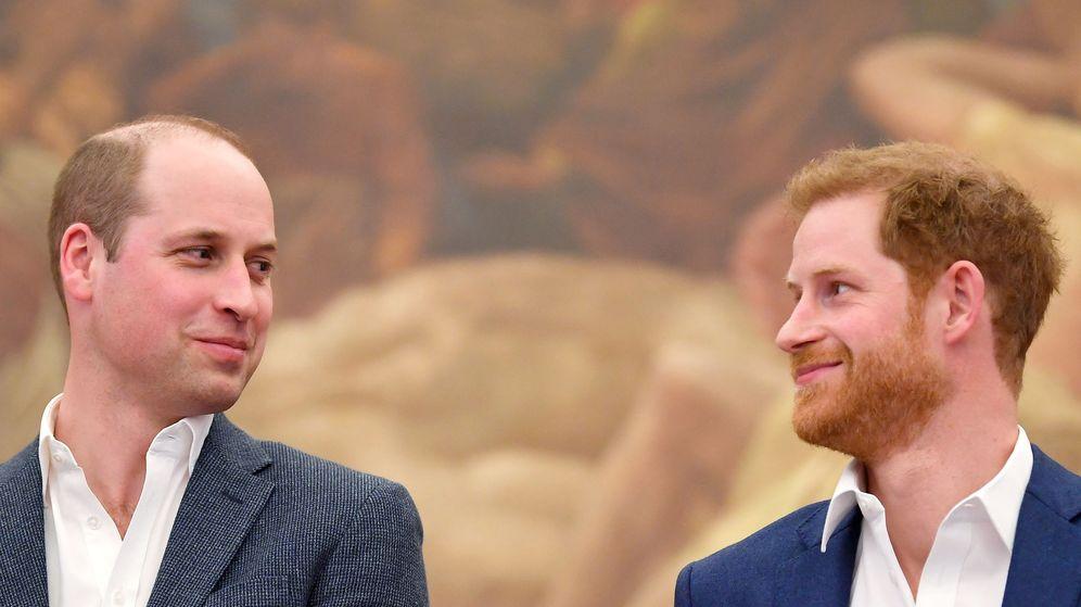 Foto: Guillermo y Harry, en una imagen de archivo. (Reuters)