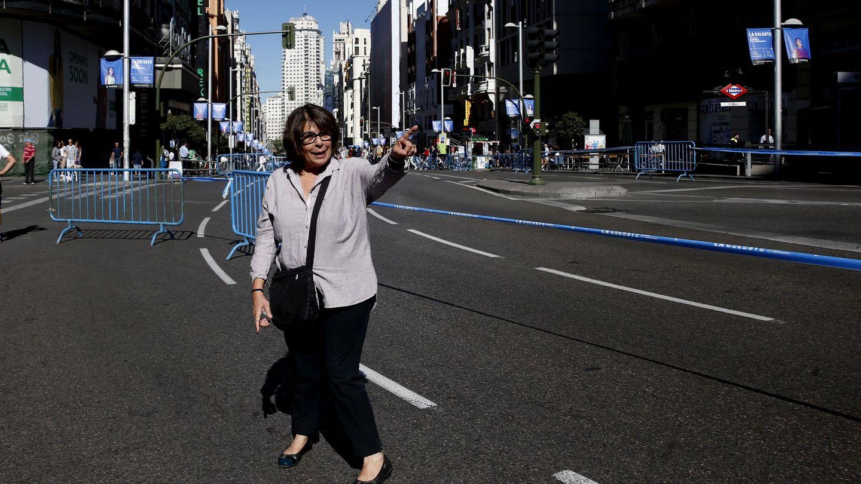 La delegada de Medio Ambiente y Movilidad, Inés Sabanés, de la que depende la EMT. (EFE)
