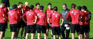 Foto: Jugadores del Athletic ya advirtieron a Urrutia de lo que pasaría si Bielsa continuaba como técnico