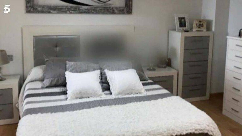 Un detalle del dormitorio emitido en 'Viva la vida'. (Mediaset)