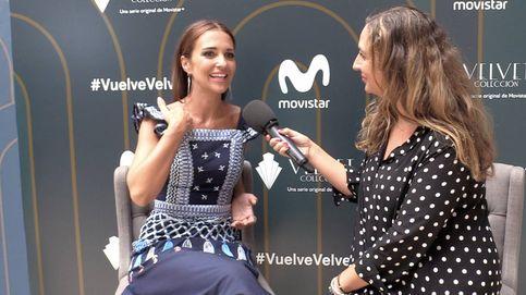 Paula Echevarría: Estoy muy ilusionada con mi nueva etapa, pero si me necesitan en 'Velvet Colección', intentaría estar
