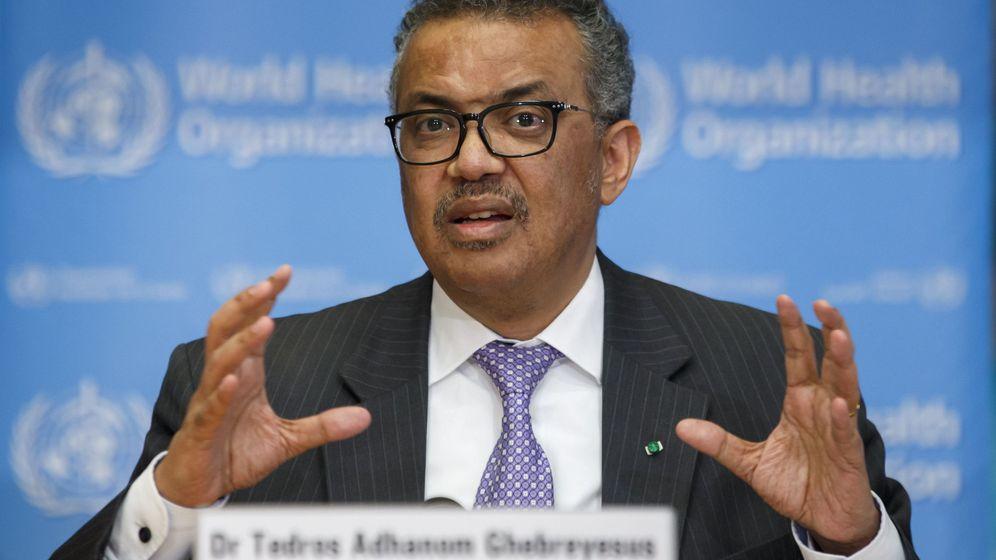 Foto: El director general de la OMS, Tedros Adhanom (EFE)