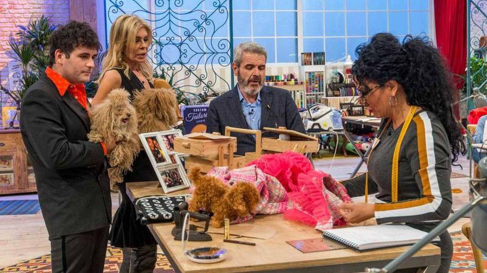 'Maestros de la costura': La moda canina anima la despedida de Eduardo