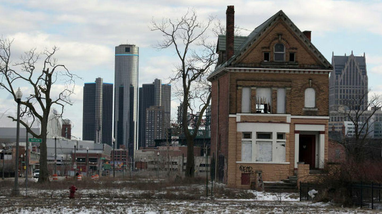 Detroit desde las afuertas. (reuters)