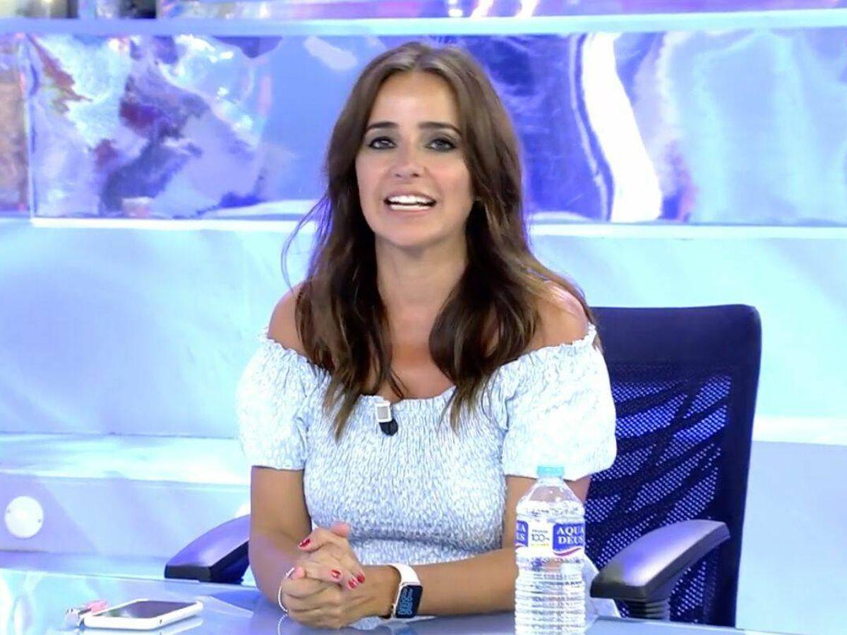 Foto: Carmen Alcayde en 'Sálvame'. (Mediaset España)