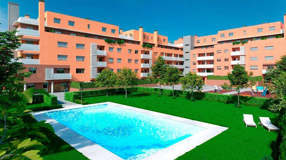 Foto: Promoción residencial de Quabit.