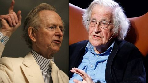 ¿Por qué Tom Wolfe destroza a Noam Chomsky en su último libro?