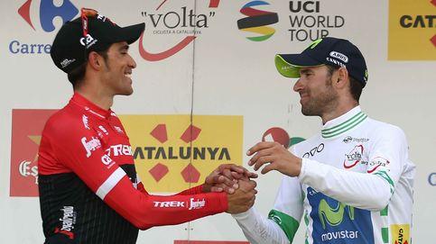 Alberto Contador y Alejandro Valverde: no por mucho correr se llega antes