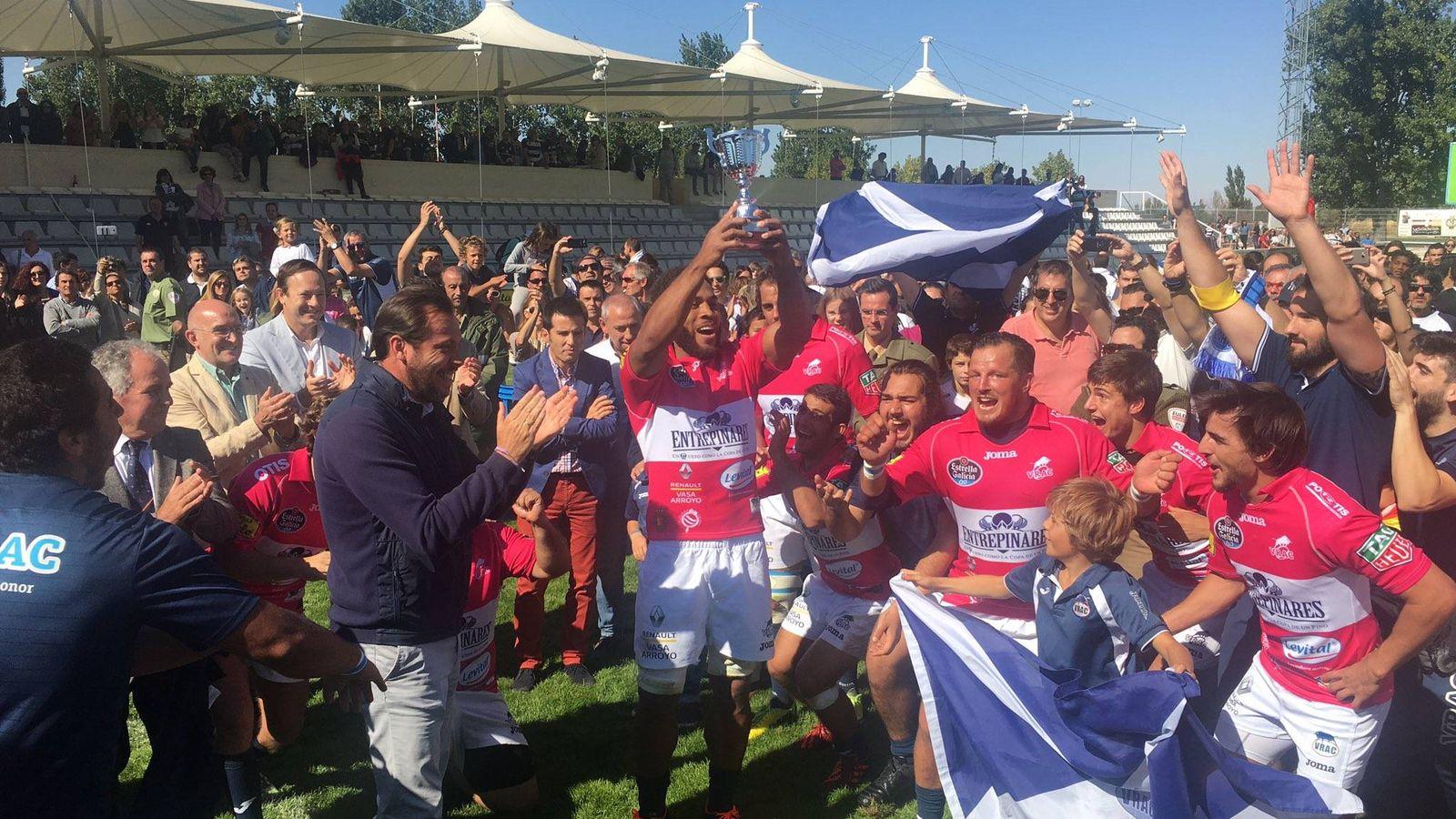 Foto: El VRAC ganó su quinta Supercopa consecutiva (Ayuntamiento de Valladolid).