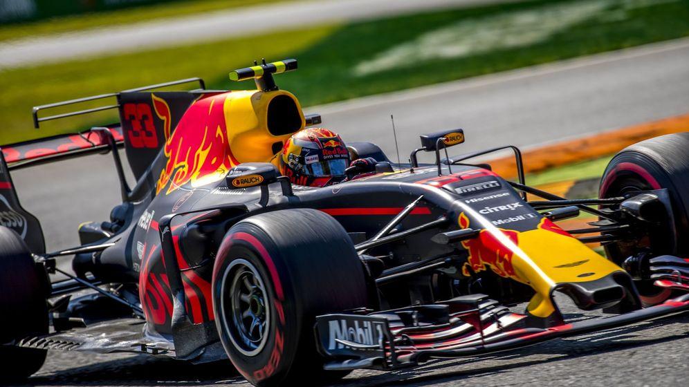 Foto: Max Verstappen a los mandos de su Red Bull, en el GP de Italia. (EFE)