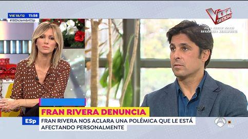 Fran Rivera denuncia en 'Espejo público' ser víctima de amenazas: Ha habido un montaje