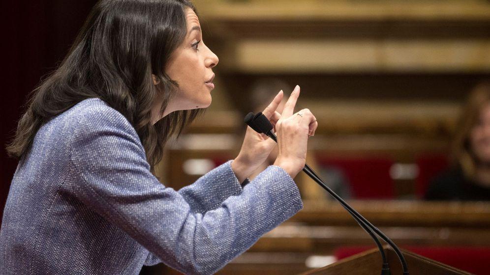 Foto: La líder de Ciudadanos en Cataluña, lnés Arrimadas. (EFE)