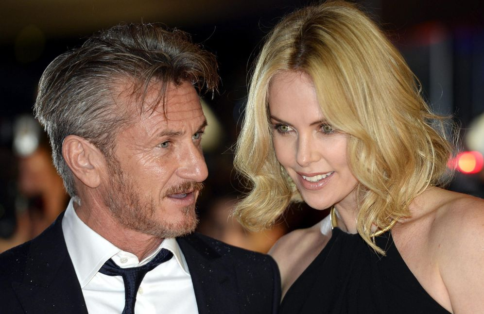 Foto: Sean Penn y Charlize Theron (Reuters)