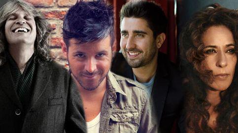 José Merce, Álex Ubago, Rosario Flores y Pablo López, a 'La Voz'