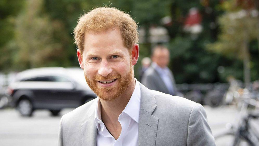 Foto: El príncipe Harry, esta mañana en Ámsterdam. (EFE)