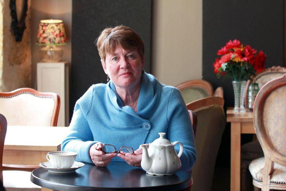 Foto: La escritora británica Fiona Barton. (Llorenç Osa)